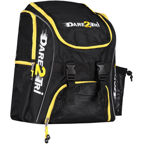 Dare2Tri Transition Swim Backpack 23l yellow/black